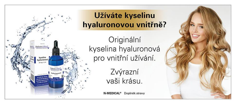 Kyselina hyaluronová pro vnitřní užití